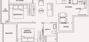 urban-treasures-2-bedroom-compact-floor-plan-type-2a-jalan-eunos-singapore