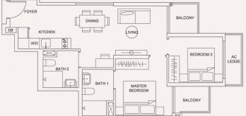 urban-treasures-2-bedroom-standard-floor-plan-type-2e-jalan-eunos-singapore